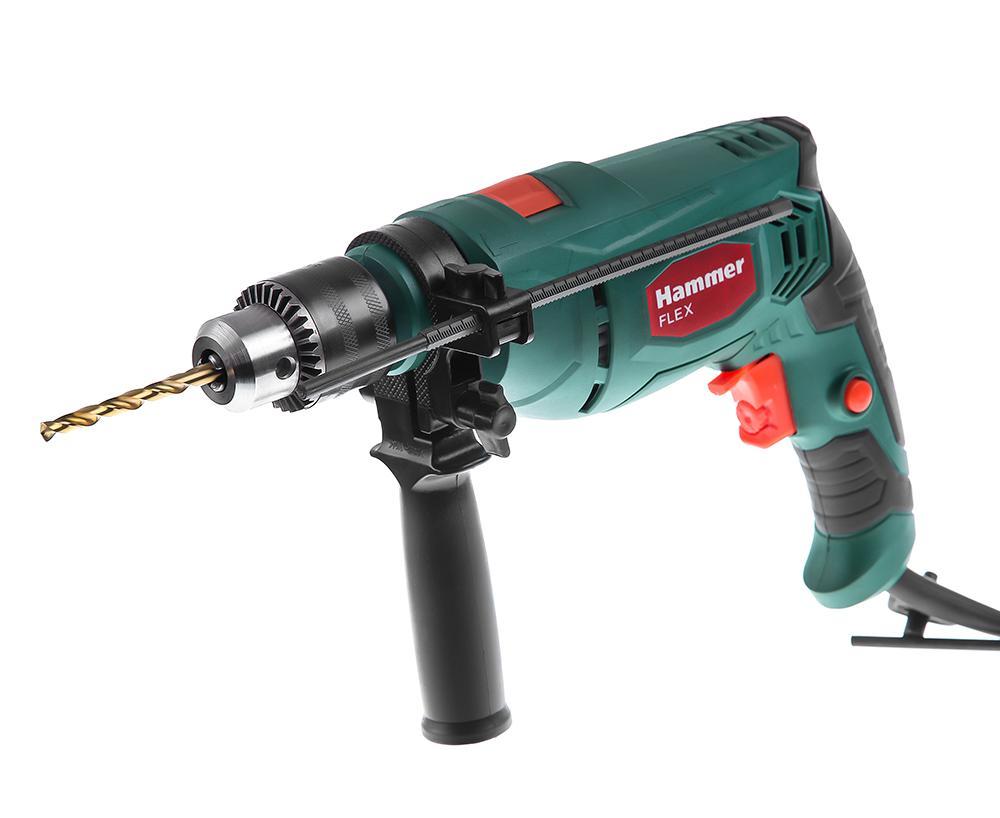 Дрель ударная Hammer Udd650le фрезер hammer flex frz1200b