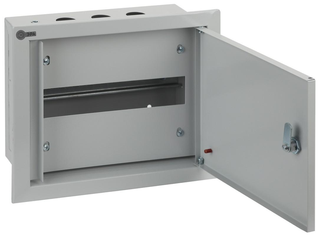 Щит ЭРА ЩРВ-12 ip31  щиток встраиваемый для 12 модулей металлический ip31 иэк щрв
