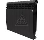 Радиатор биметаллический ROYAL THERMO BiLiner 500 Noir Sable 10 секций