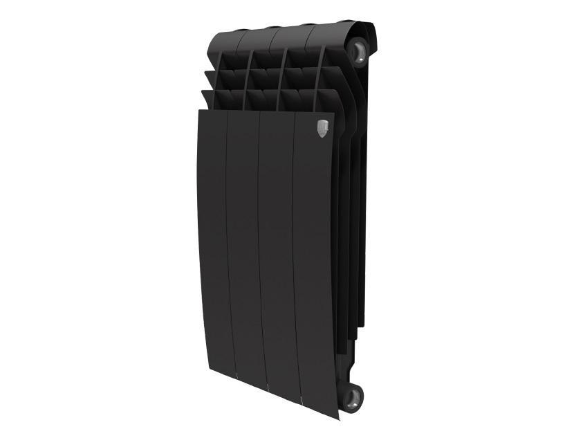 Радиатор биметаллический Royal thermo Biliner 500 noir sable 4 секций