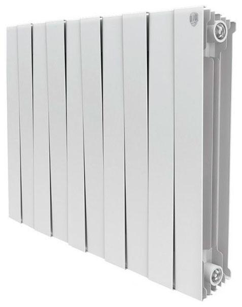Радиатор биметаллический Royal thermo Pianoforte 500/bianco traffico 10 секций радиатор биметаллический 1 global style plus 500 10 секций