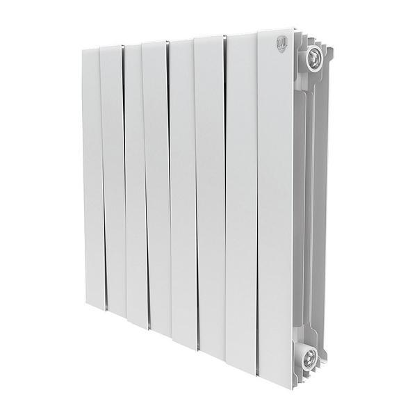 Радиатор биметаллический Royal thermo Pianoforte 500/bianco traffico 8 секций warma 500 85 8 секций