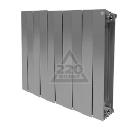Радиатор биметаллический ROYAL THERMO PianoForte 500/Silver Satin 10 секций