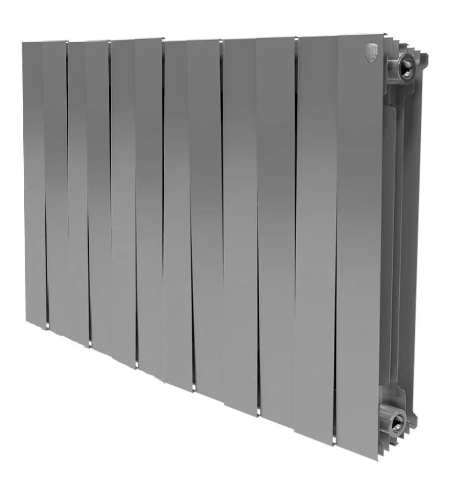 Радиатор биметаллический Royal thermo Pianoforte 500/silver satin 12 секций mccarthy t satin island