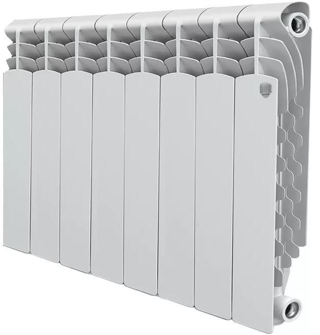 Радиатор алюминиевый Royal thermo Revolution 350 8 секций водяной радиатор отопления royal thermo revolution bimetall 350 8 секц