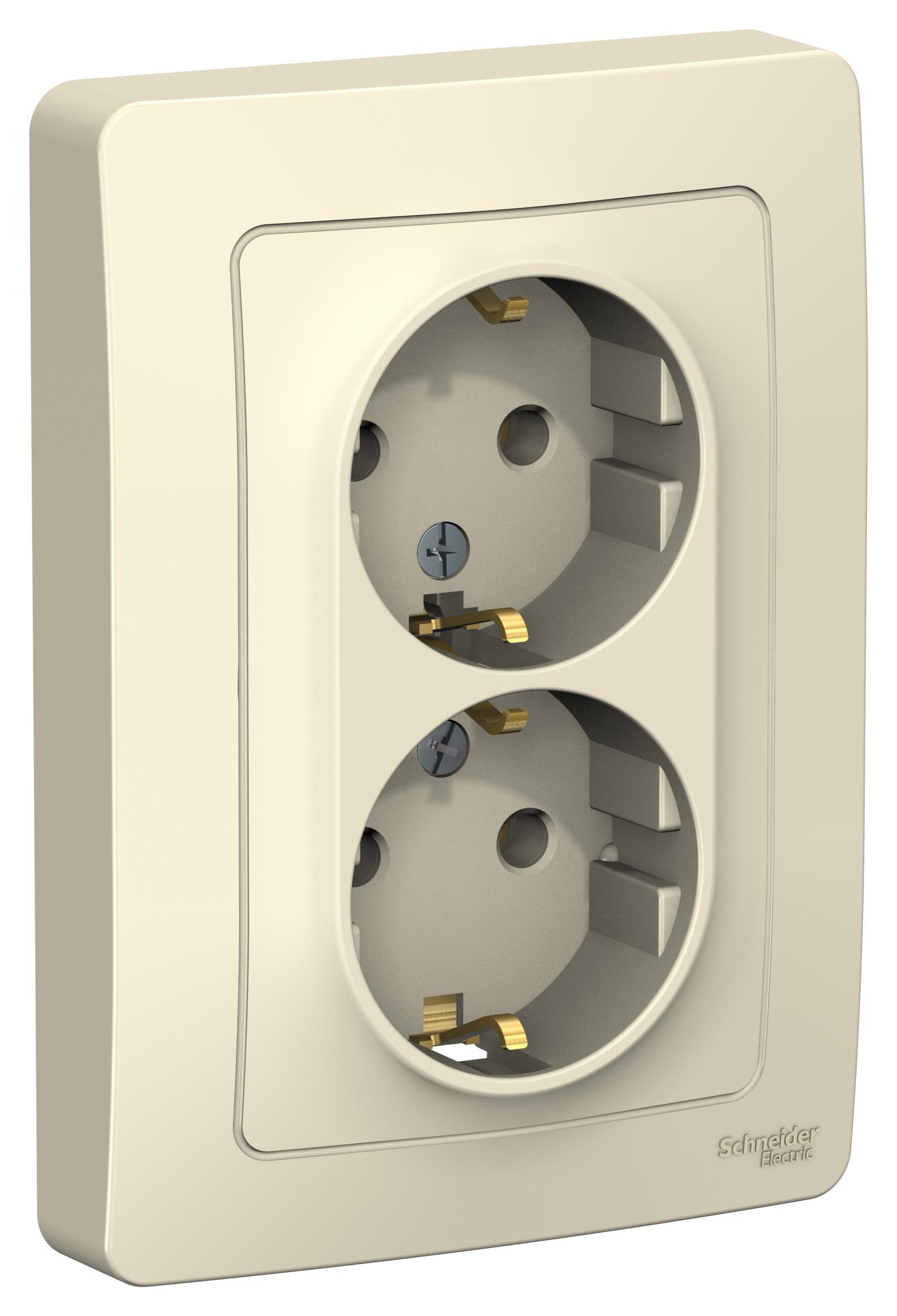 Розетка Schneider electric Blnrs001022 blanca  - Купить