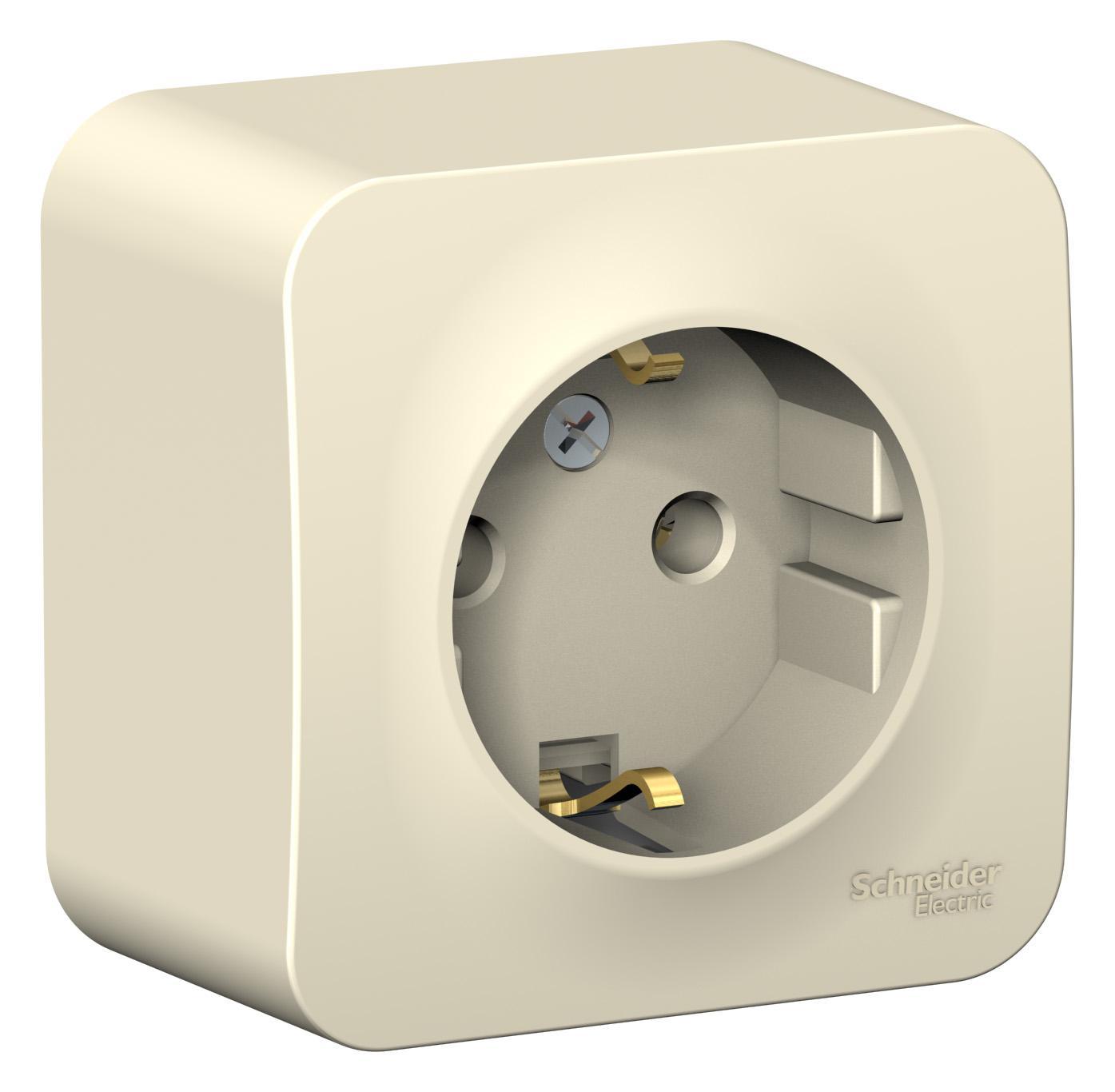 Розетка Schneider electric Blnra010102 blanca