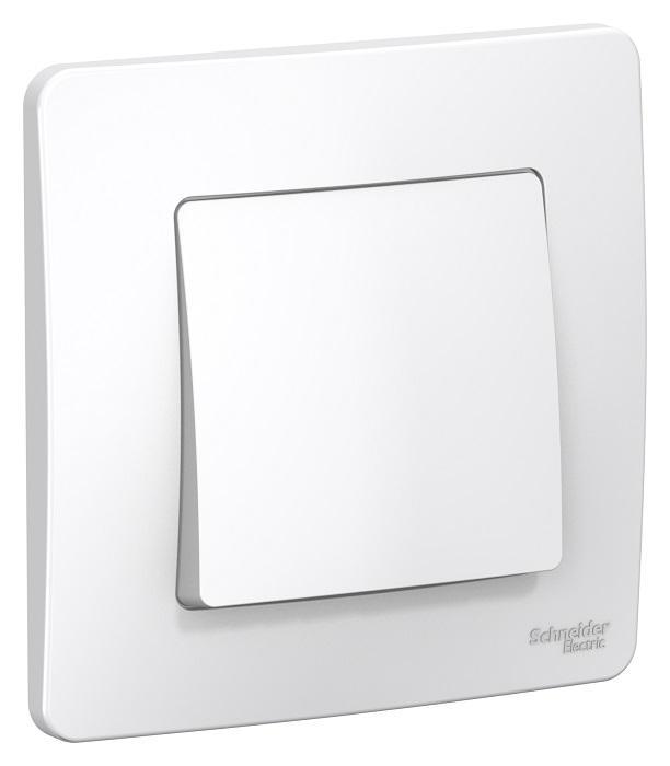 Выключатель Schneider electric Blnvs006101 blanca панель лицевая schneider electric actassi 1 модуль белый 24 шт vdi88240