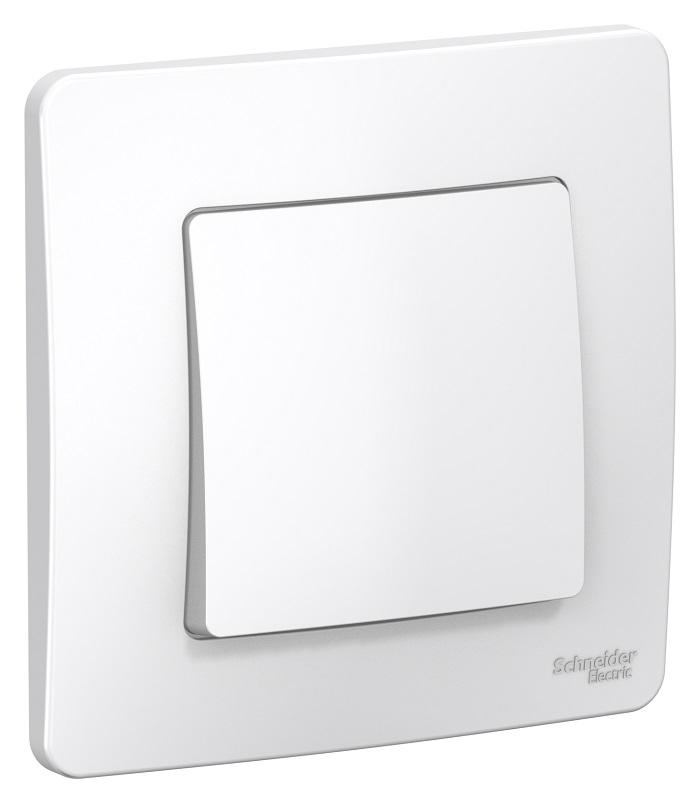 Переключатель Schneider electric Blnvs010601 blanca панель лицевая schneider electric actassi 1 модуль белый 24 шт vdi88240