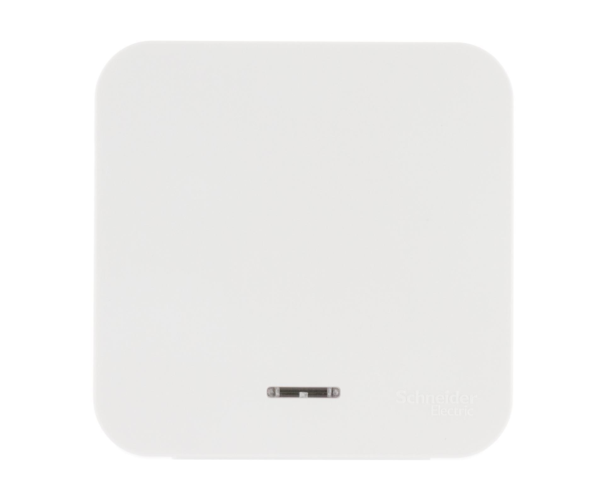 Выключатель Schneider electric Blnva101111 blanca панель лицевая schneider electric actassi 1 модуль белый 24 шт vdi88240