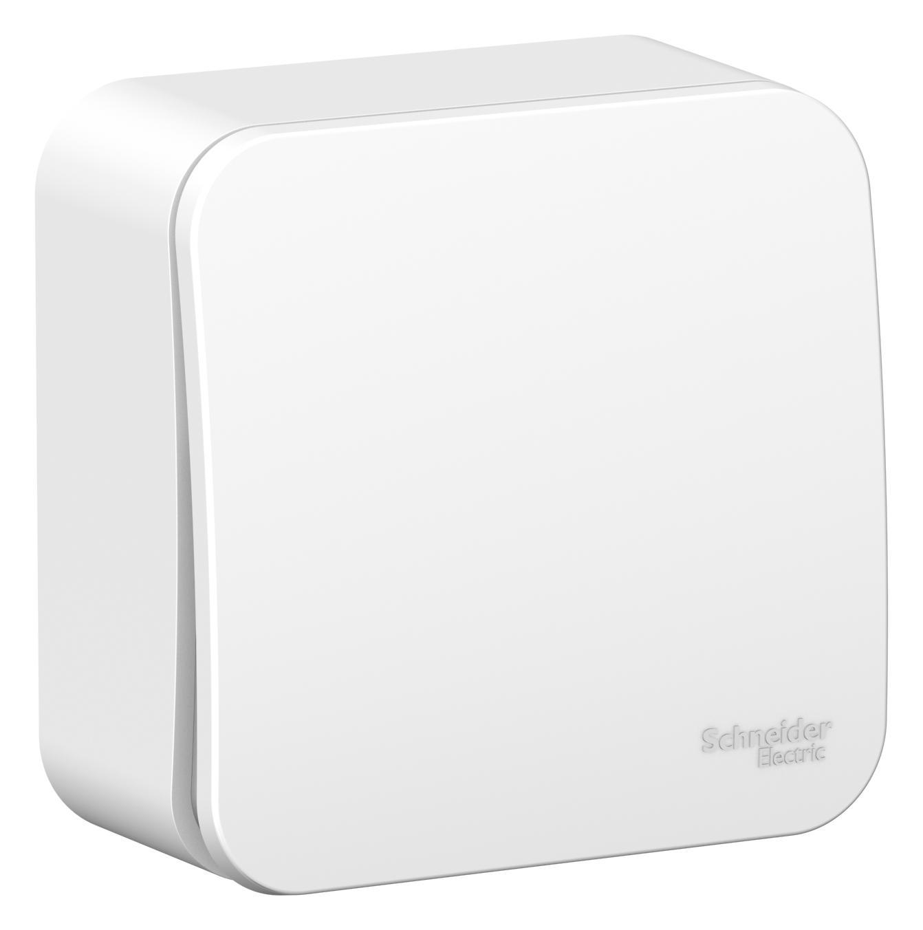 Переключатель Schneider electric Blnva106011 blanca панель лицевая schneider electric actassi 1 модуль белый 24 шт vdi88240