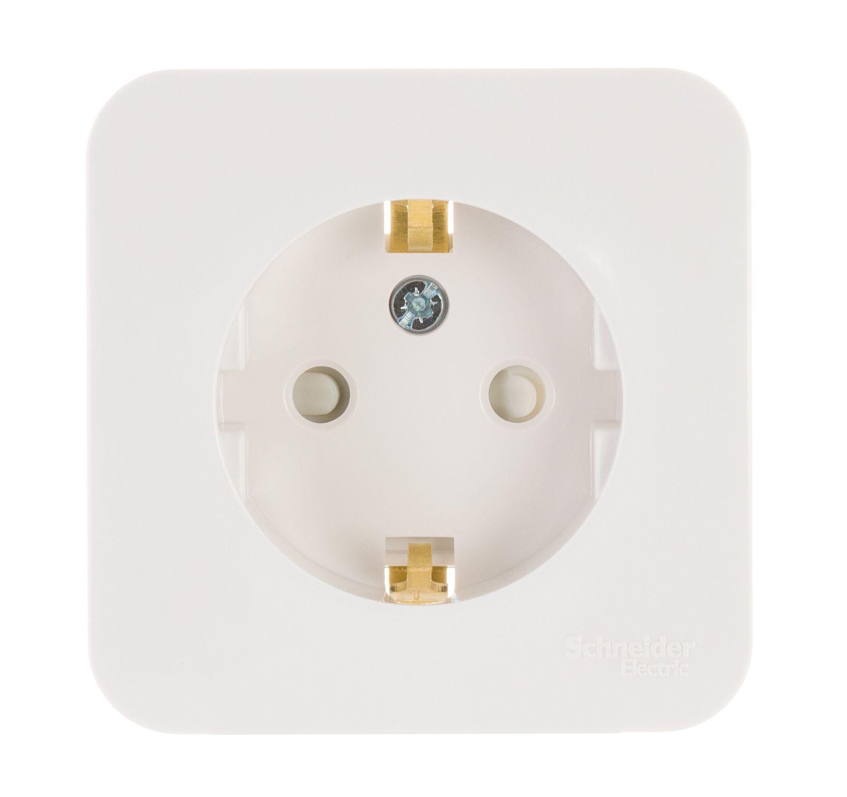 Розетка Schneider electric Blnra011101 blanca панель лицевая schneider electric actassi 1 модуль белый 24 шт vdi88240