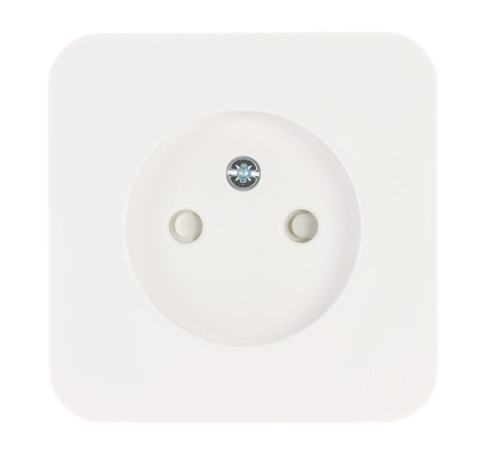 Розетка Schneider electric Blnra001111 blanca панель лицевая schneider electric actassi 1 модуль белый 24 шт vdi88240