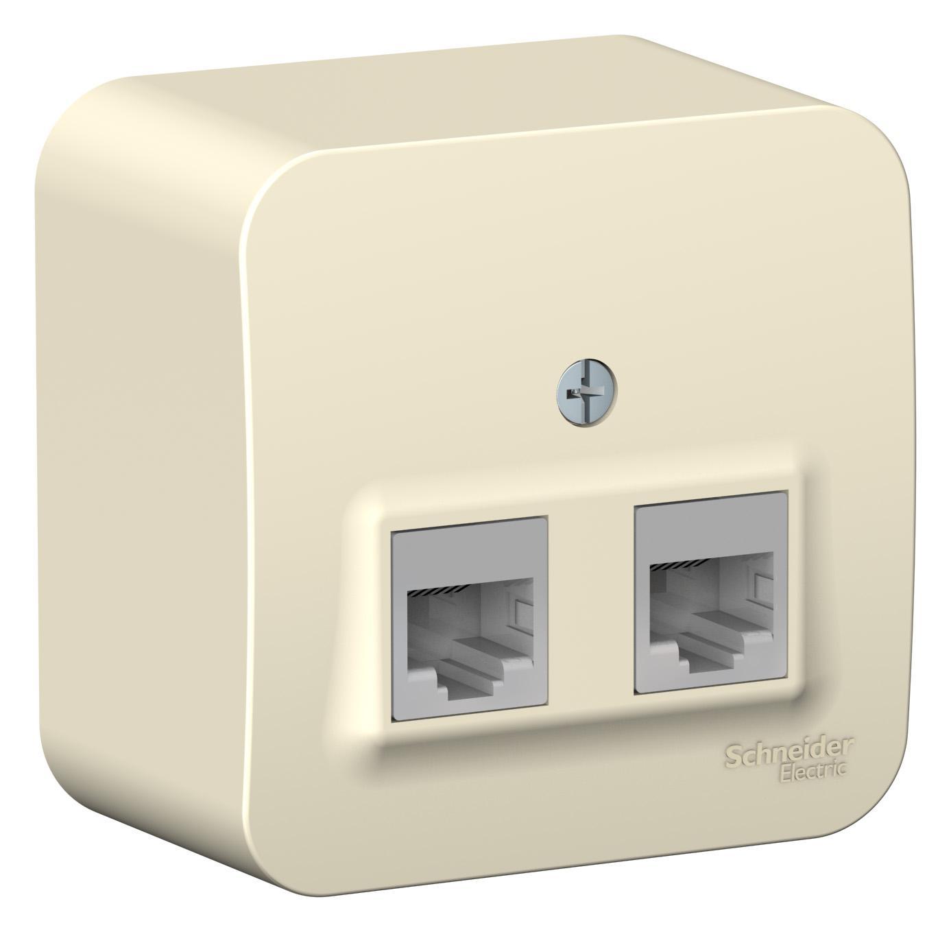 Розетка Schneider electric Blnia045452 blanca розетка schneider electric se sdn4101121