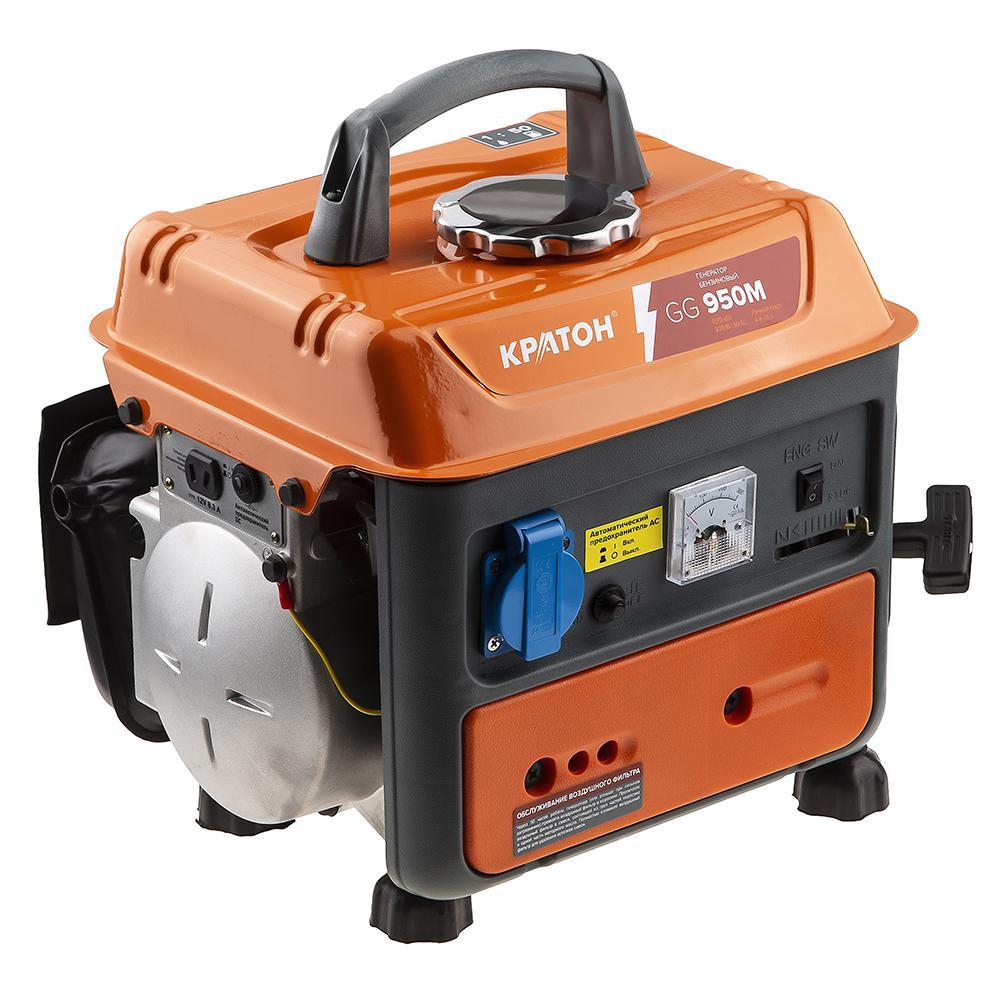 Бензиновый генератор КРАТОН Gg-950m инверторный генератор кратон gg 900i 2t