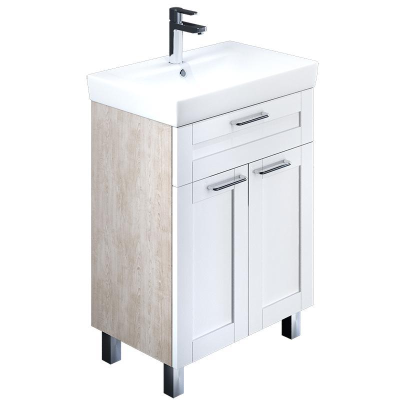 Тумба для ванной комнаты с раковиной Iddis Sen60w2i95+0036000i28 тумба iddis ris90w0i95