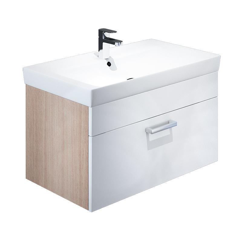 Тумба для ванной комнаты с раковиной Iddis Mir80w0i95+0018000i28 тумба iddis ris90w0i95
