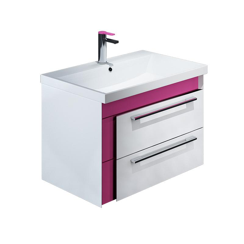 Тумба для ванной комнаты с раковиной Iddis Col60p0i95+0066000i28 тумба iddis ris90w0i95
