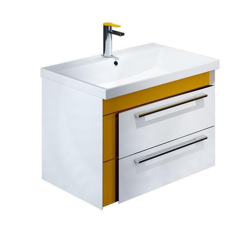 Тумба для ванной комнаты с раковиной Iddis Col60y0i95+0066000i28 тумба iddis ris90w0i95