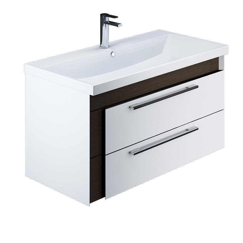 Тумба для ванной комнаты с раковиной Iddis Col90w0i95+0069000i28 тумба iddis ris90w0i95