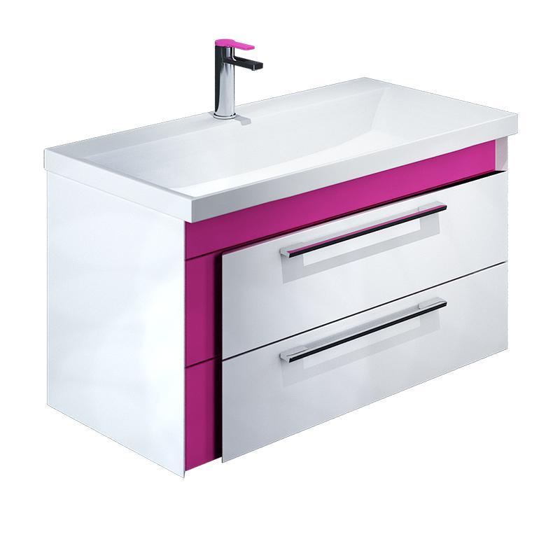 Тумба для ванной комнаты с раковиной Iddis Col90p0i95+0069000i28 тумба iddis ris90w0i95
