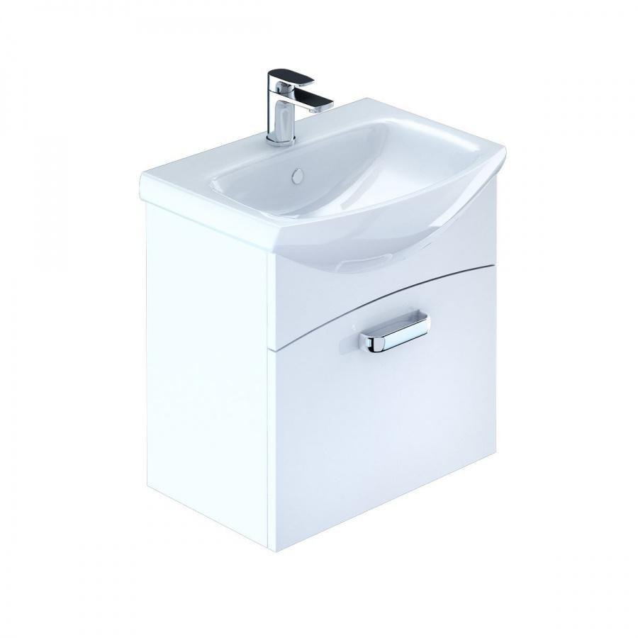 Тумба для ванной комнаты с раковиной Milardo Nia50w0m95+0035000m28