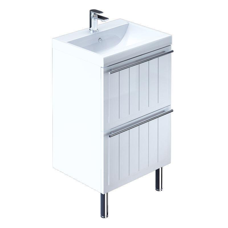 Тумба для ванной комнаты с раковиной Milardo Mag60w0m95+0016000u28