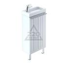 Тумба для ванной комнаты с раковиной MILARDO AMU40W1M95+0014000U28