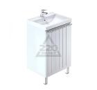 Тумба для ванной комнаты с раковиной MILARDO AMU50W1M95+0015000U28