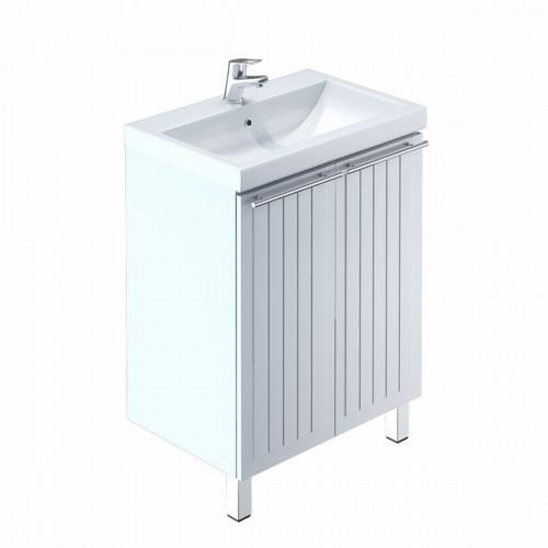 Тумба для ванной комнаты с раковиной Milardo Amu60w2m95+0016000u28