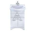 Тумба для ванной комнаты с раковиной MILARDO VIC55W0M95+0025500M28