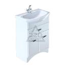 Тумба для ванной комнаты с раковиной MILARDO VIC75W1M95+0027500M28