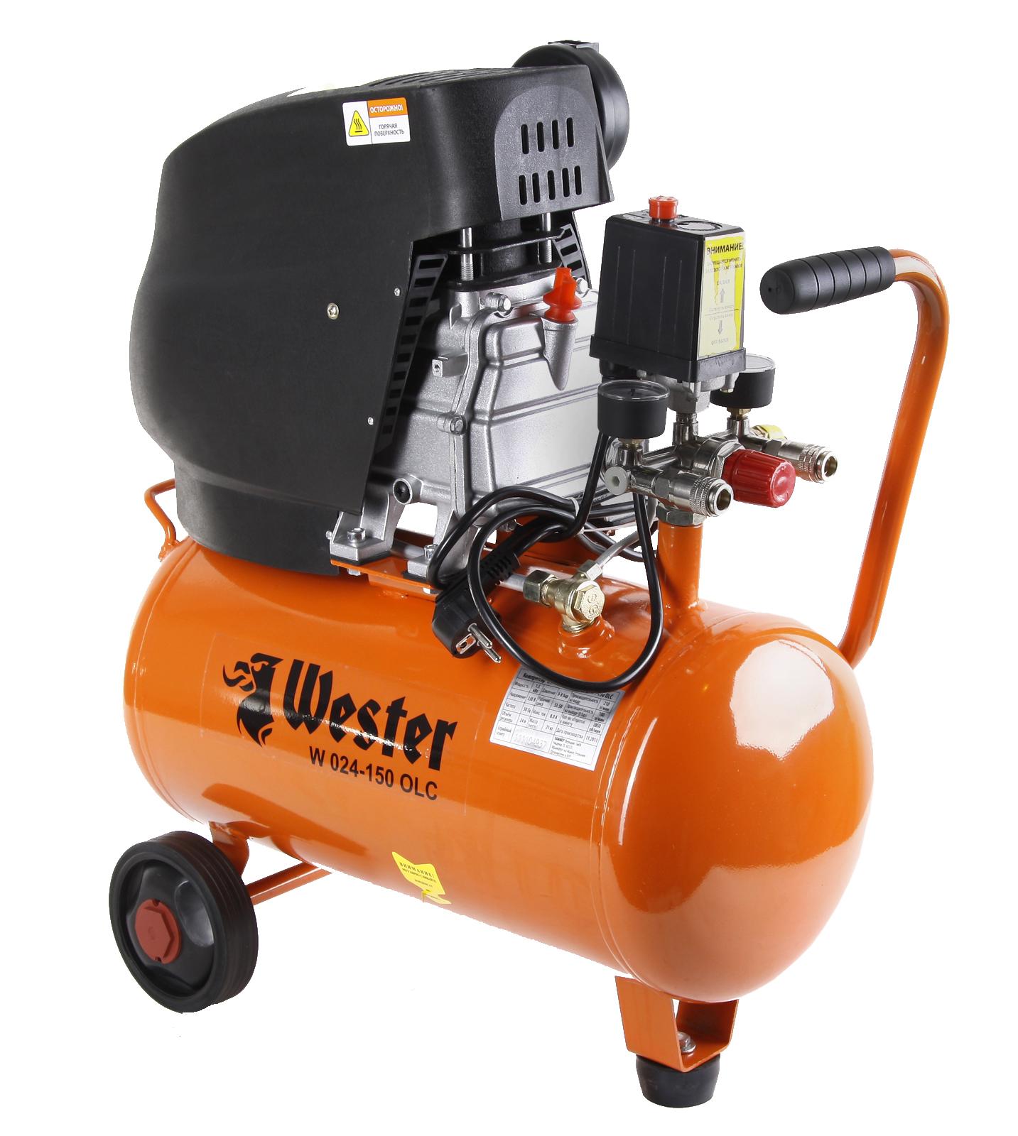 Компрессор поршневой Wester W 024-150 olc