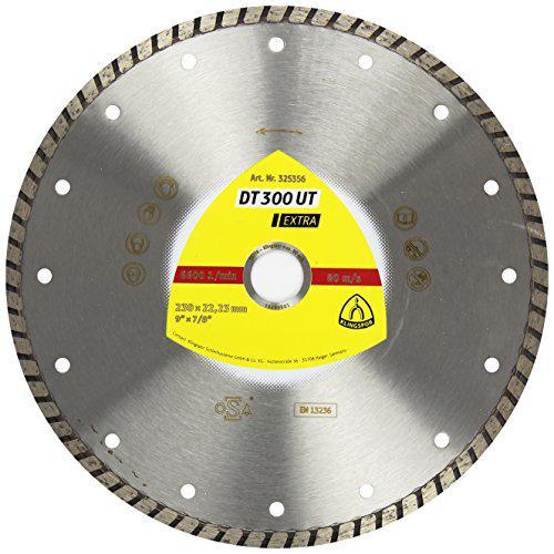 Круг алмазный Klingspor Dt 300 ut extra 125 x 1.9 x 22 турбо диск отрезной алмазный gross турбо с лазерной перфорацией