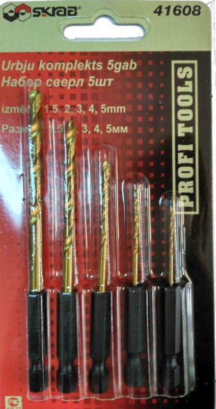 Сверло по металлу Skrab 41608
