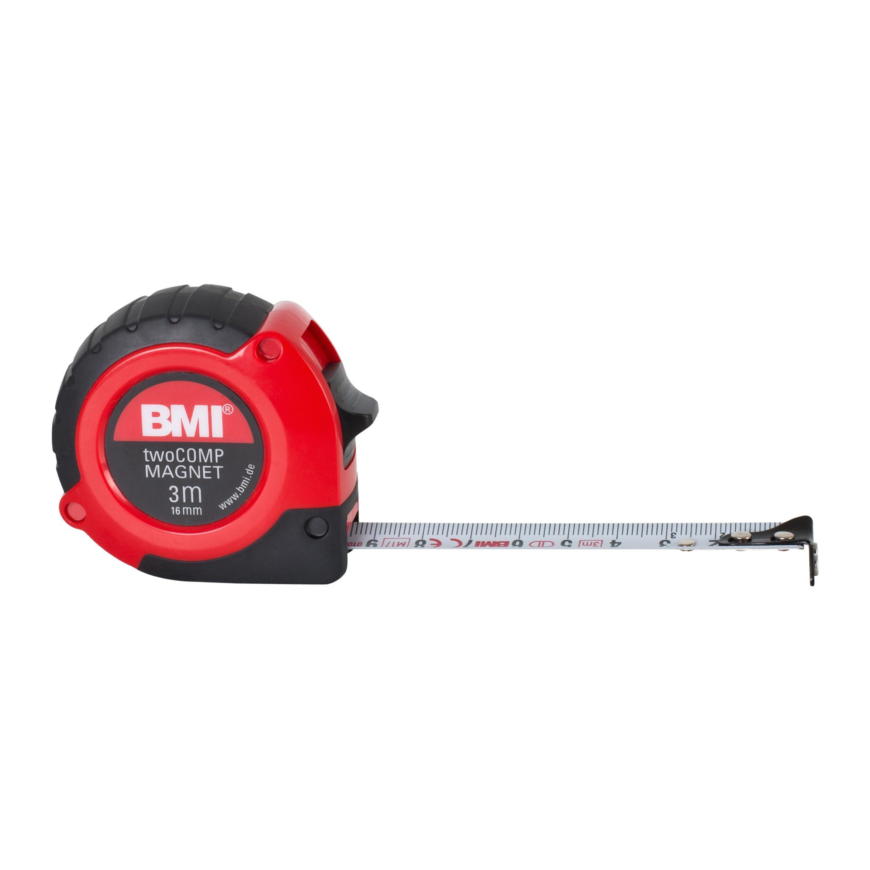 Рулетка Bmi Tape twocomp magnetic 3 m