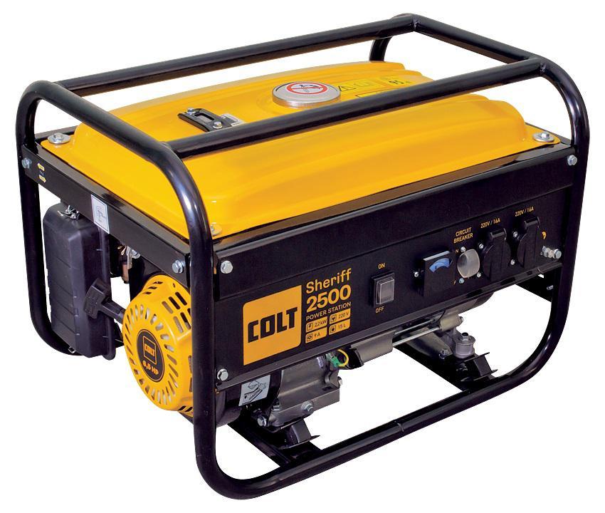 Бензиновый генератор Colt Sheriff 2500 брелок автосигнализации sheriff 2500 ver 1