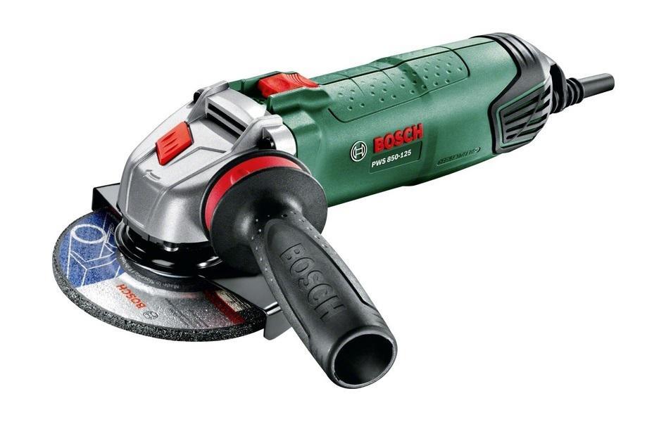 УШМ (болгарка) Bosch Pws 850-125 (0.603.3a2.704) шлифовальная машина bosch pws 2000 230 je 06033c6001
