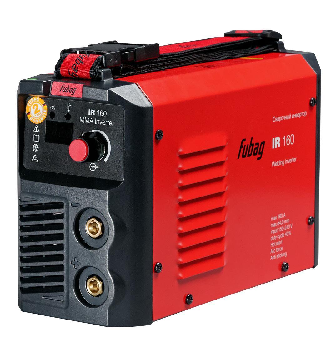 Сварочный аппарат Fubag Ir 160 + Маска свар. ultima 11 маска сварщика fubag ultima 5 13 panoramic red хамелеон