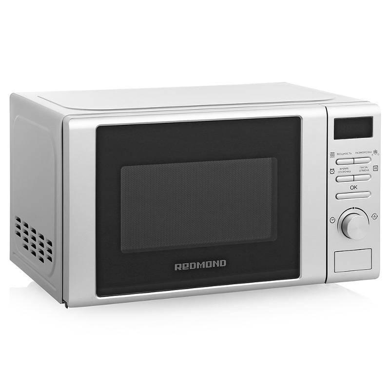 Купить со скидкой Микроволновая печь Redmond Rm-2002d