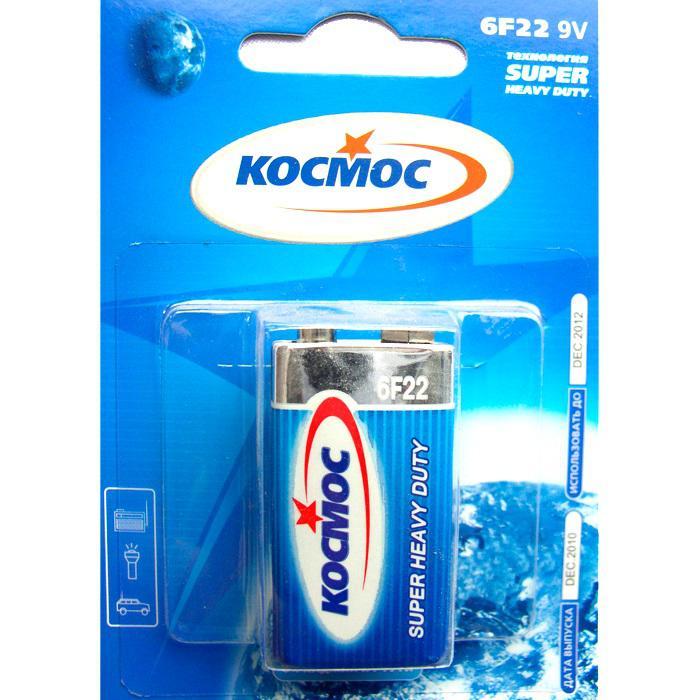 Батарейка КОСМОС Koc6f22