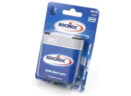 Батарейка КОСМОС KOC3R12 Тип: 3R12 (Кол-во в уп. 1шт.)