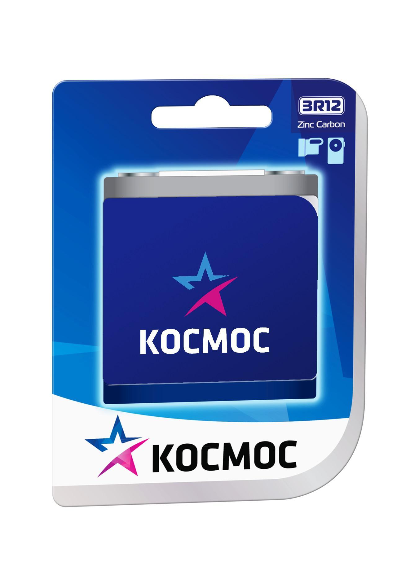 Батарейка КОСМОС Koc3r121bl
