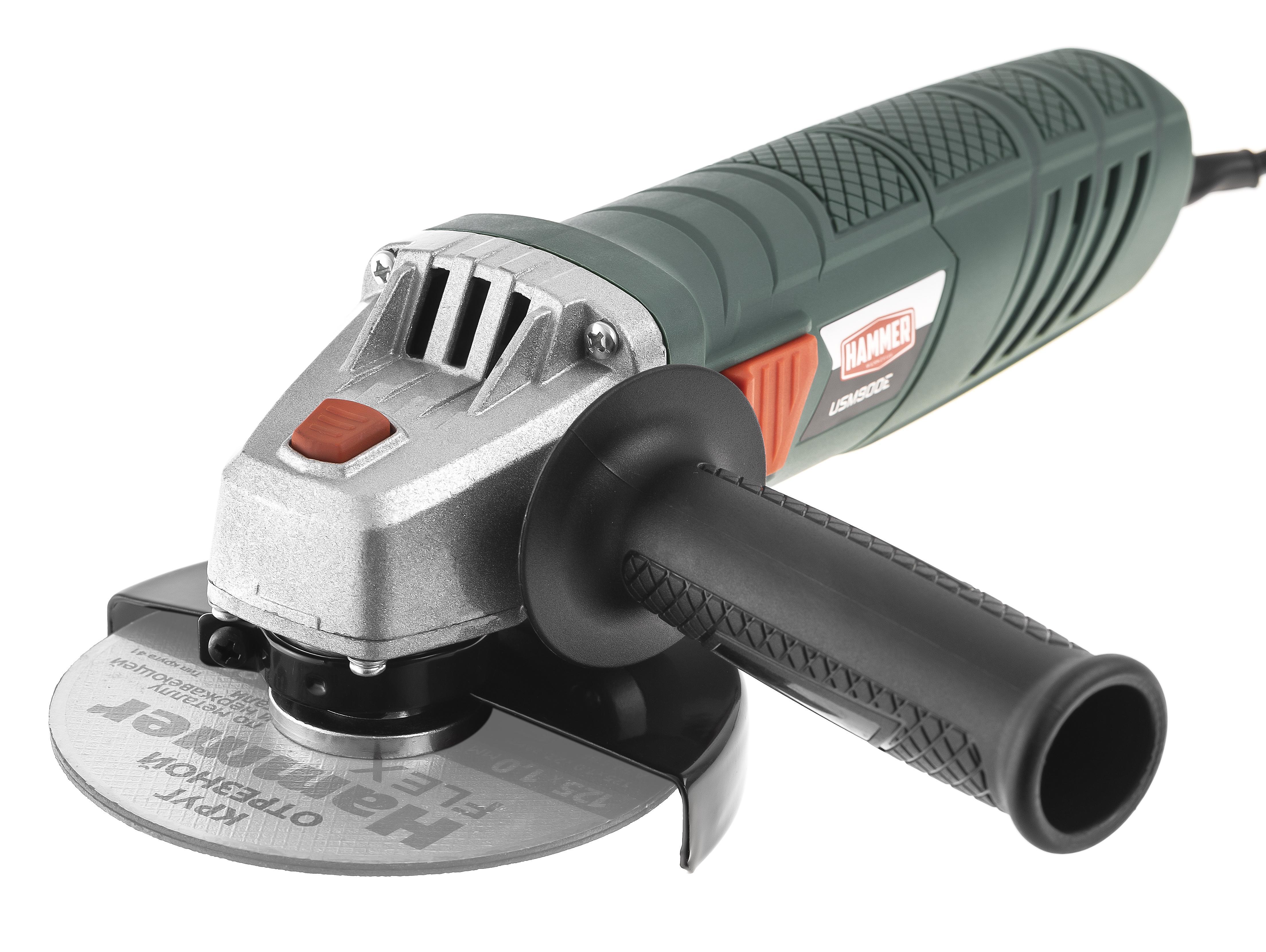 УШМ (болгарка) Hammer Usm900e угловая шлифовальная машина болгарка hammer flex usm 710 d