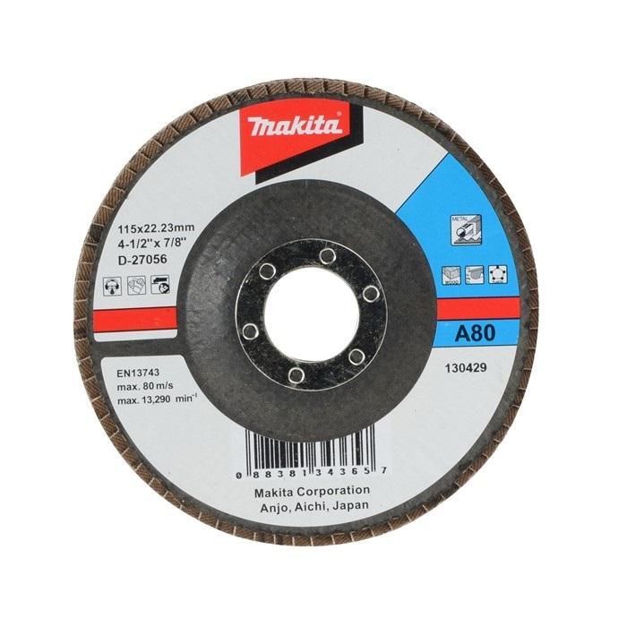 Круг Лепестковый Торцевой (КЛТ) Makita D-27056 круг лепестковый торцевой клт makita d 28092