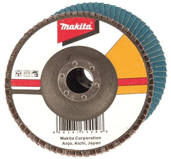 Круг Лепестковый Торцевой (КЛТ) Makita D-27361 круг лепестковый торцевой клт makita d 27078