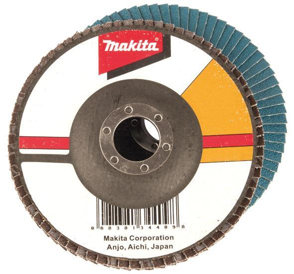 Круг Лепестковый Торцевой (КЛТ) Makita D-28101 круг лепестковый торцевой клт makita d 28092