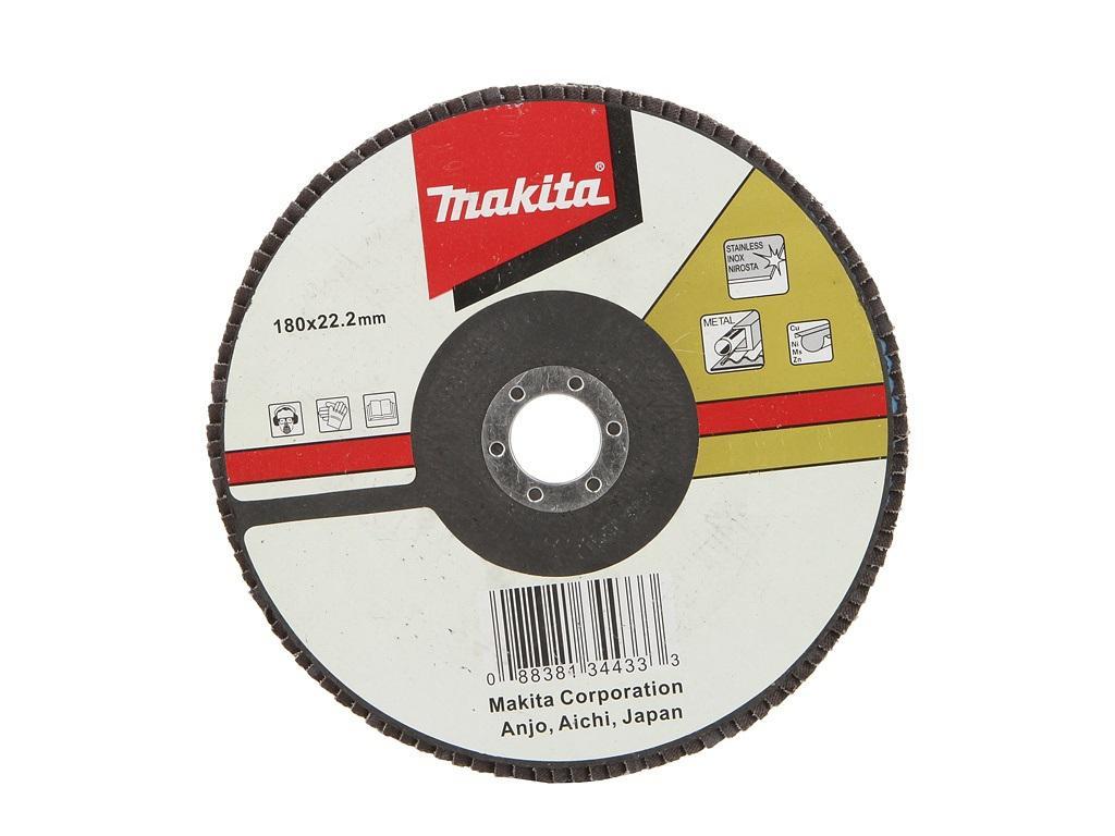 Круг Лепестковый Торцевой (КЛТ) Makita D-28123 круг лепестковый торцевой клт makita d 28117