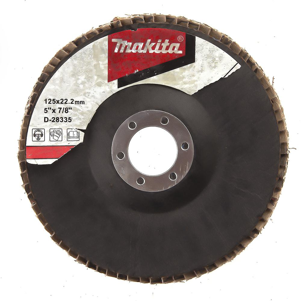 Круг Лепестковый Торцевой (КЛТ) Makita D-28335 круг лепестковый торцевой клт makita d 27707