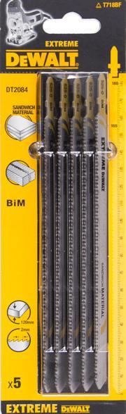 Пилки для лобзика Dewalt Dt2084-qz пилки для лобзика по металлу для прямых пропилов t318bf 2 шт 2 5 6 мм стандарт